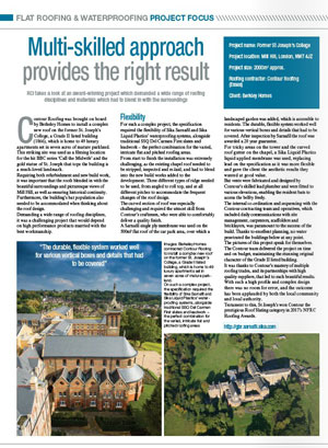Contour Roofing featured in RCI Magazine