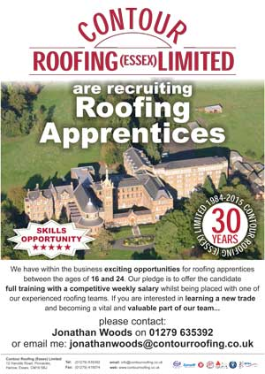 Roofing Apprentices - Skills Opportunity