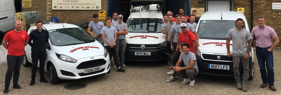 The Contour Roofing Team