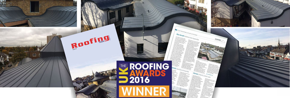 Roofing award 2016