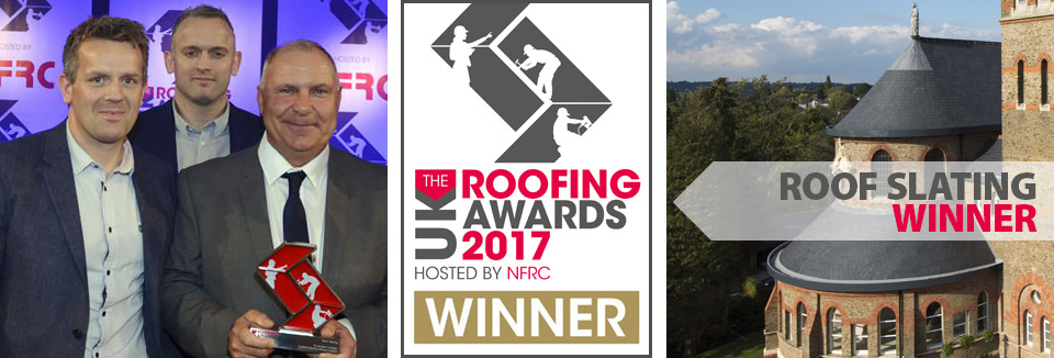 Back to Back wins for Contour Roofing at the NFRC Roofing Awards 2017