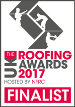Roofing Awards 2017 finalist logo