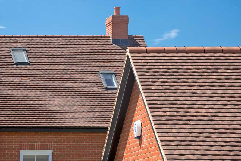 Roofing For New Housing In Harlow