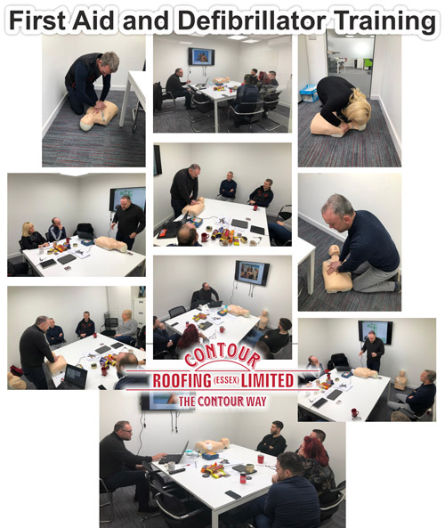 First Aid Defibrillator Training