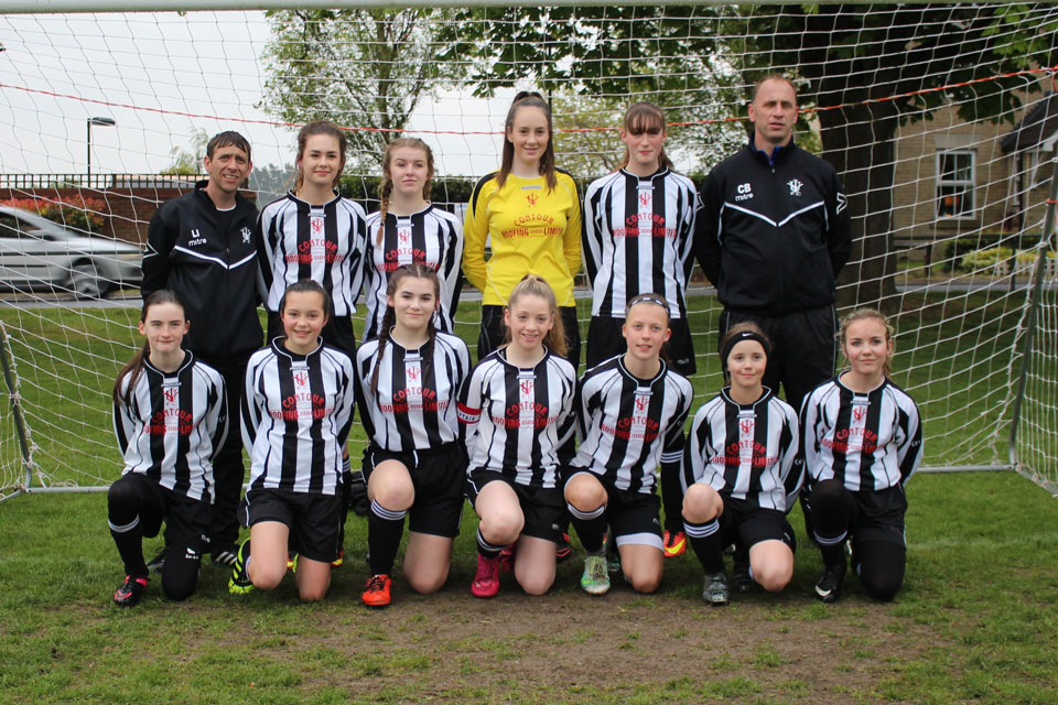 Isleham United Girls 2017